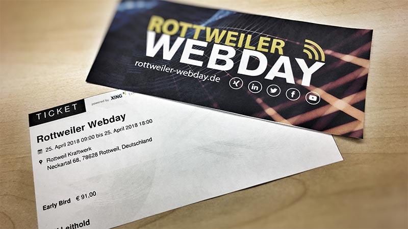 Webday – Webdays – Online Marketing Konferenz – Rottweil, Freiburg, Leipzig, Stuttgart, Berlin