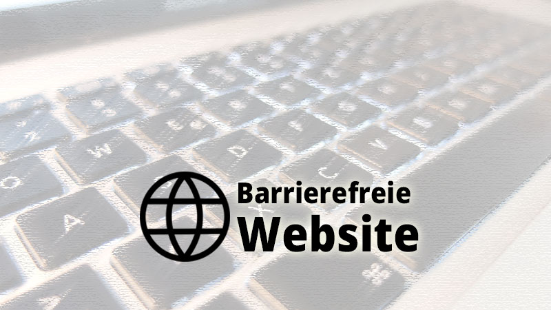 Barrierefreie Website